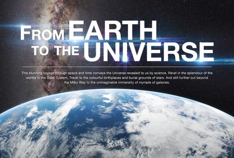 Viaggio dalla Terra all'Universo