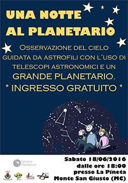 Planetario Marche