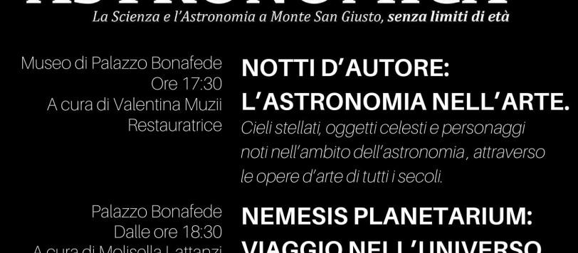 Astronomia in provincia di Macerata